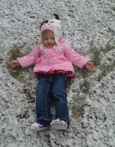 Granddaughter Maya lovin' life!